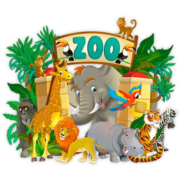 Stickers for Kids: Zoo Adventure