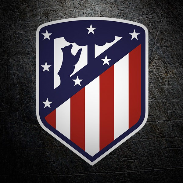 Wall Stickers: New Atletico de Madrid shield