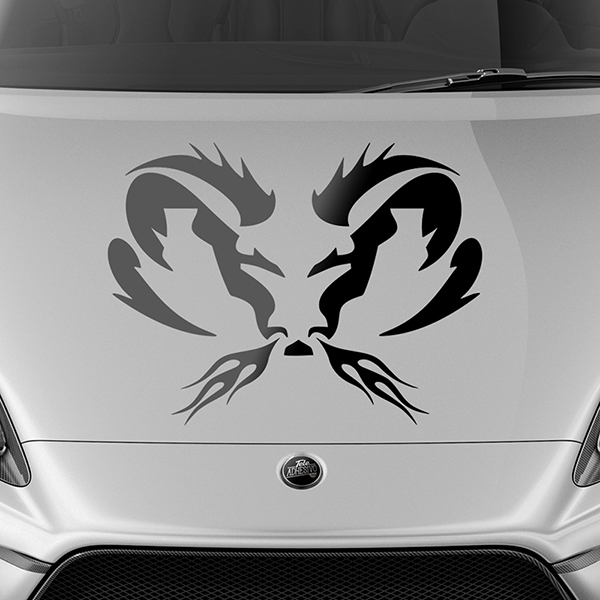 Car & Motorbike Stickers: Ram Tribal