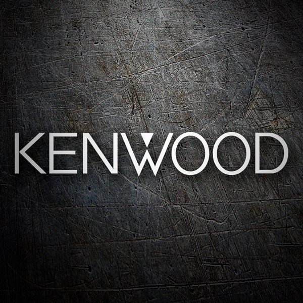 Car & Motorbike Stickers: Kenwood