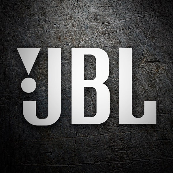 Car & Motorbike Stickers: JBL