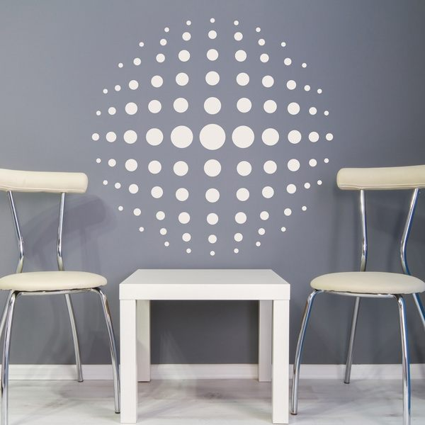 Wall Stickers: Psychedelic Circle