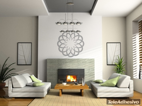 Wall Stickers: Basic Mandala