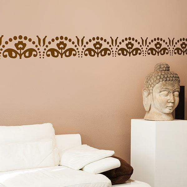 Wall Stickers: Wall Border Garden