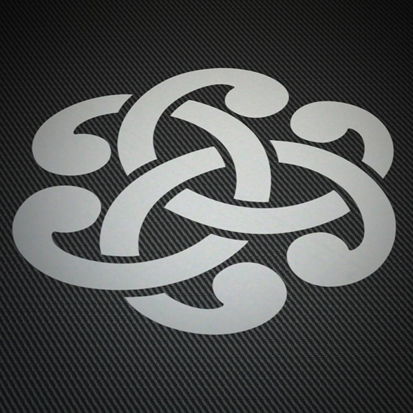 Car & Motorbike Stickers: Symbol Celtic 1