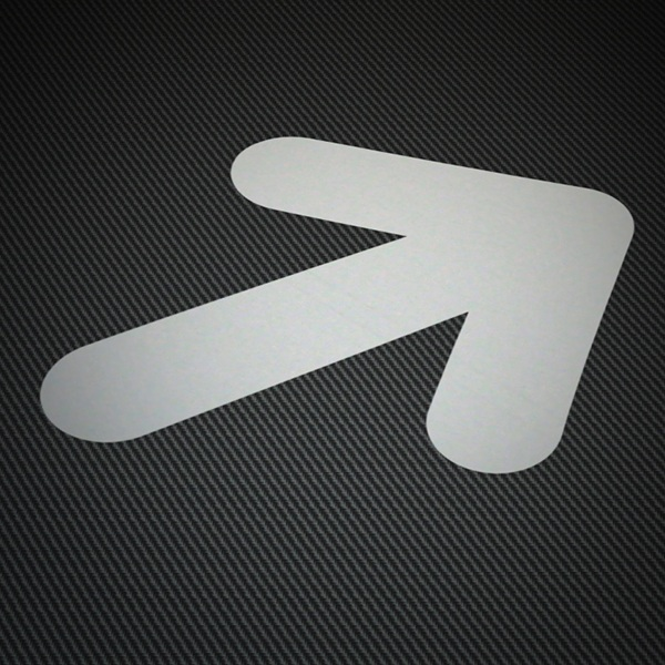 Car & Motorbike Stickers: Arrow 3
