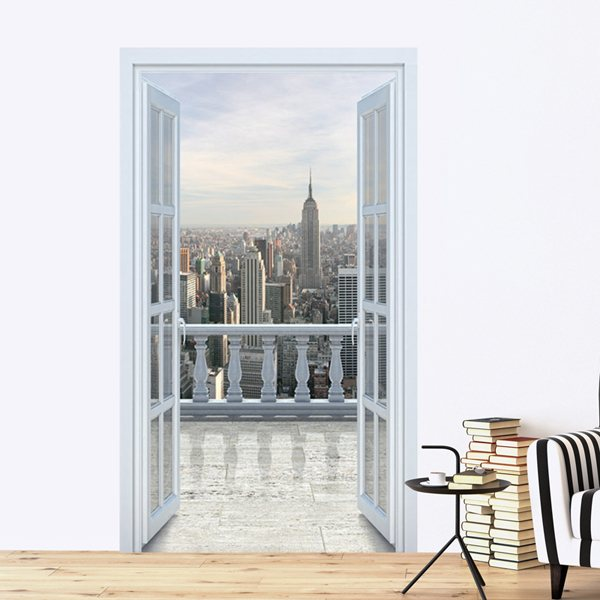 Wall Stickers: Sky line