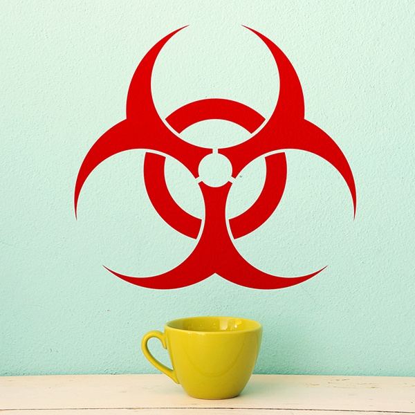 Wall Stickers: Biohazard