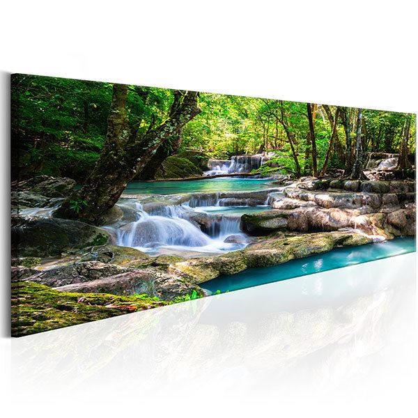 Other products: Waterfall through the forest