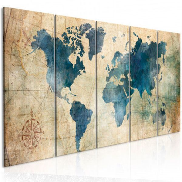 Other products: Retro world map