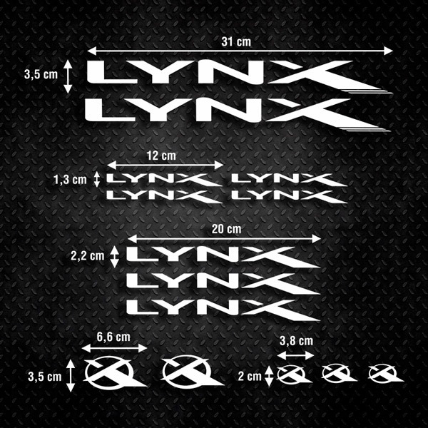 Car & Motorbike Stickers: Kit Bike MTB BH Lynx