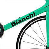 Car & Motorbike Stickers: Set 11X Bike Bianchi 2