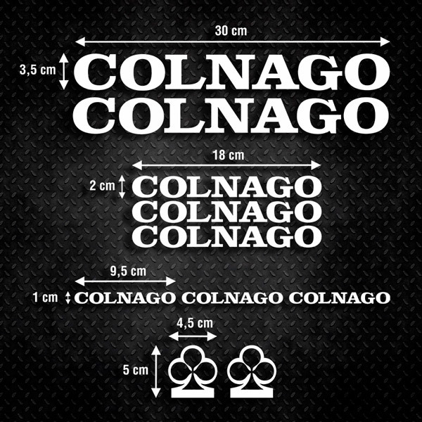 Car & Motorbike Stickers: Kit Bike Colnago