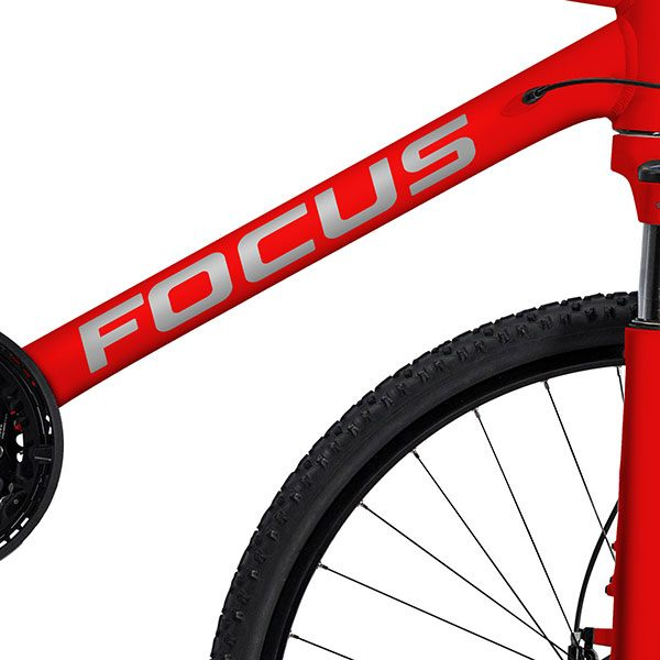 Car & Motorbike Stickers: Kit Bike MTB Focus Classic