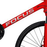 Car & Motorbike Stickers: Kit Bike MTB Focus Classic 2