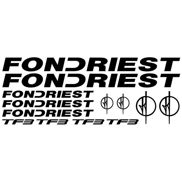 Car & Motorbike Stickers: Kit Bike Fondriest