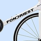 Car & Motorbike Stickers: Kit Bike Fondriest 2