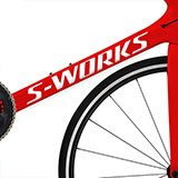 Car & Motorbike Stickers: Kit Bike Specialized S-Works 2