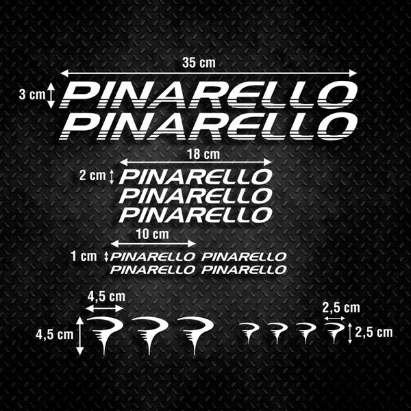 Car & Motorbike Stickers: Kit Bike Pinarello