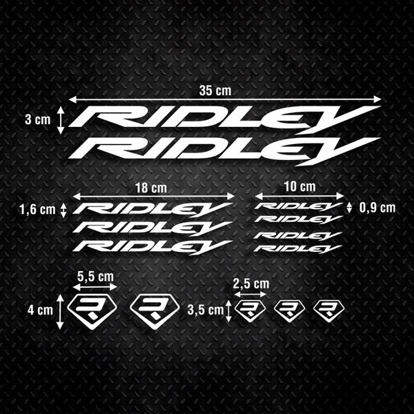 Car & Motorbike Stickers: Kit Bike Ridley