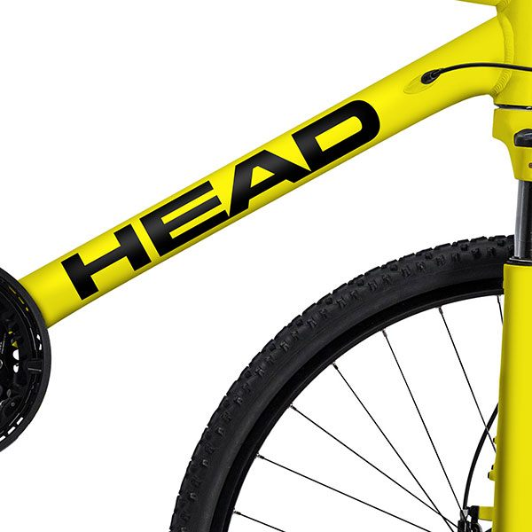 Car & Motorbike Stickers: Kit Bike MTB Head