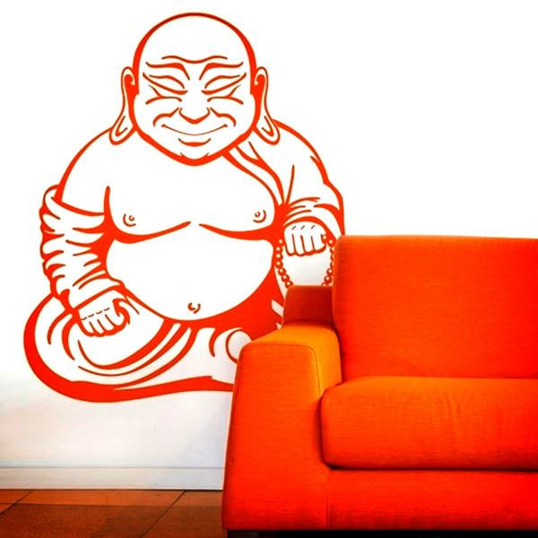 Wall Stickers: Buddha meditating