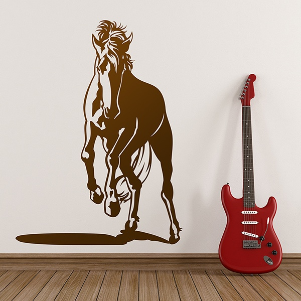 Wall Stickers: Galloping horse