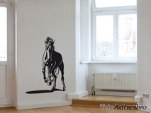 Wall Stickers: Galloping horse 2