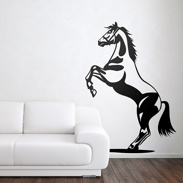 Wall Stickers: Horse pose