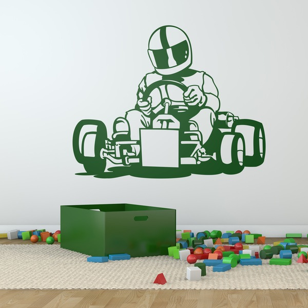 Wall Stickers: Karting