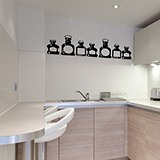 Wall Stickers: Bottles 2