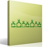 Wall Stickers: Bottles 3