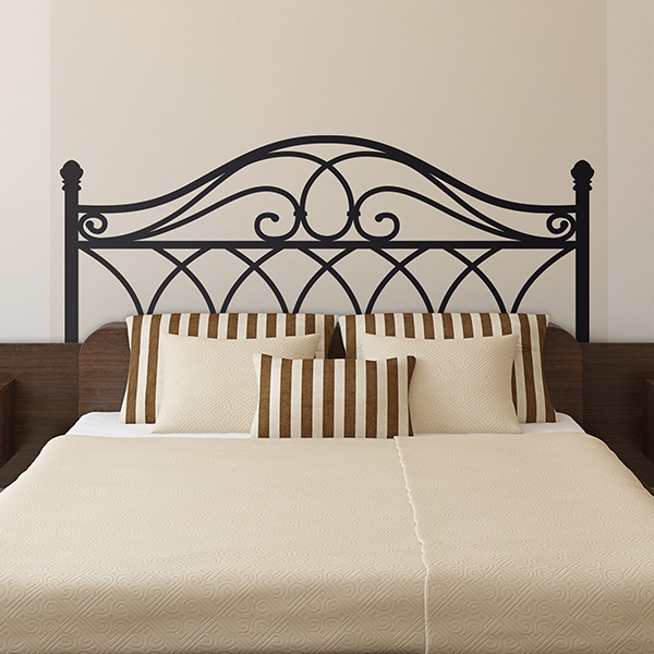 Wall Stickers: Forge Headboard