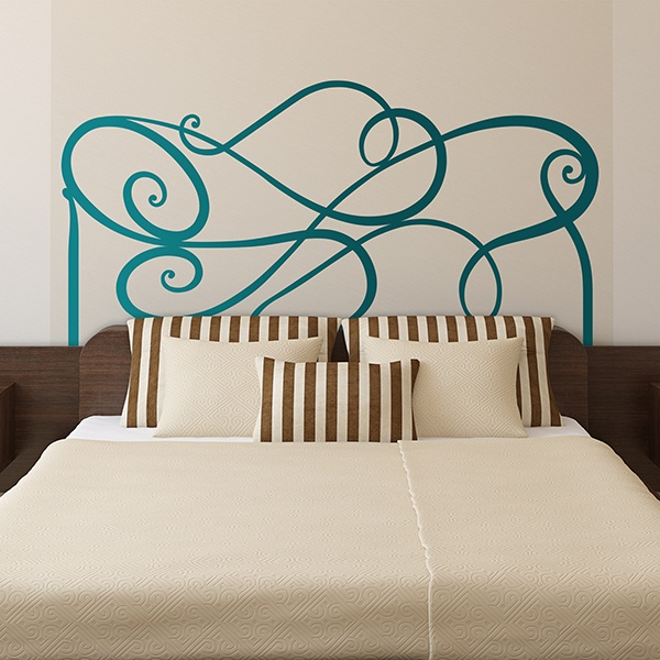 Wall Stickers: Abstract Headboard