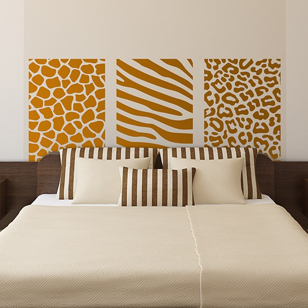Wall Stickers: Bed Headboard Africa