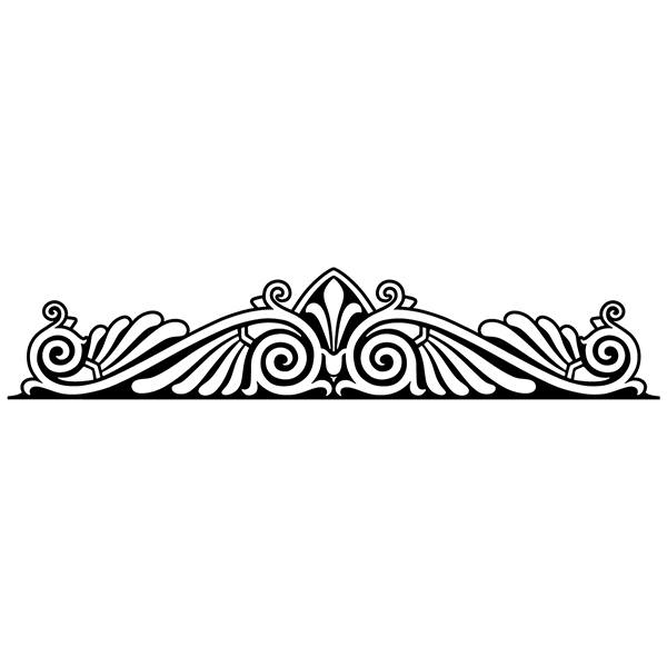 Wall Stickers: Bed Headboard Ornamental