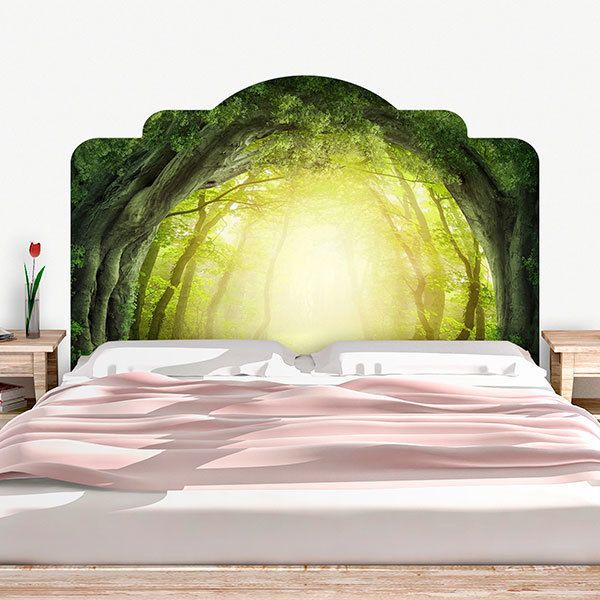 Wall Stickers: Bed Headboard Lost forests