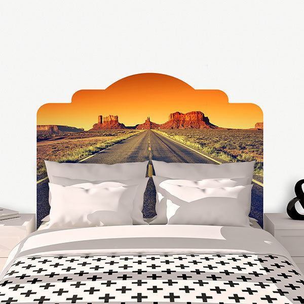Wall Stickers: Bed Headboard to the Grand Canyon