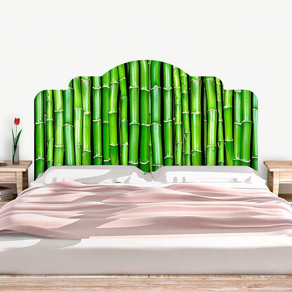 Wall Stickers: Bed Headboard Bamboo canes