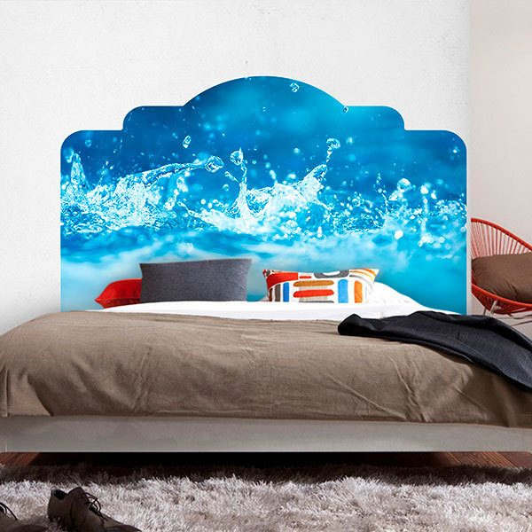 Wall Stickers: Bed Headboard Water of Life