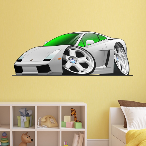 Stickers for Kids: Lamborghini