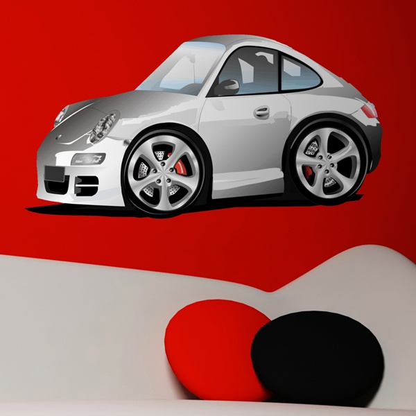 Stickers for Kids: Porsche