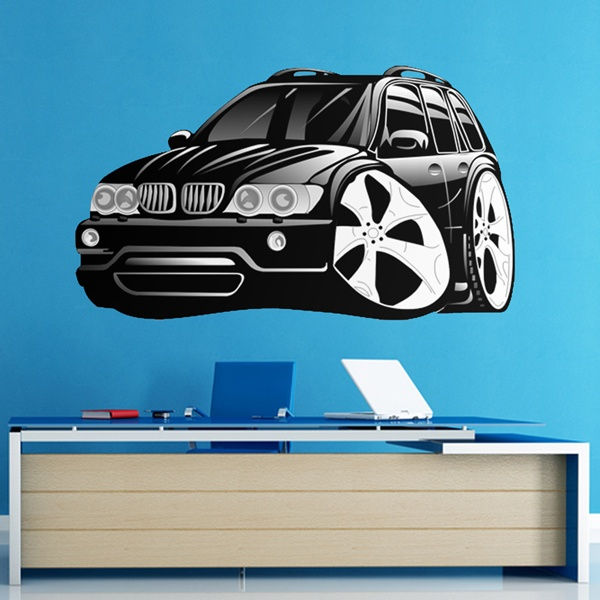 Stickers for Kids: BMW