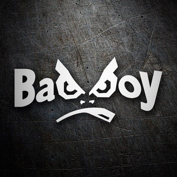Car & Motorbike Stickers: Bad Boy letters