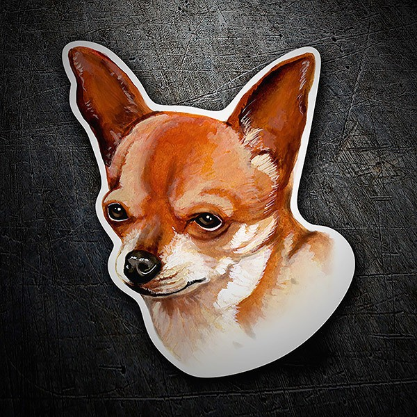 Car & Motorbike Stickers: Chihuahua