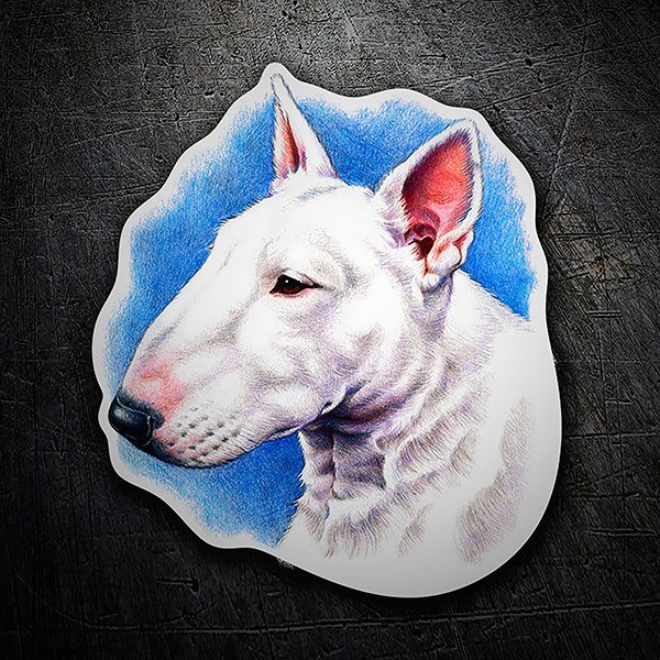 Car & Motorbike Stickers: Bull Terrier