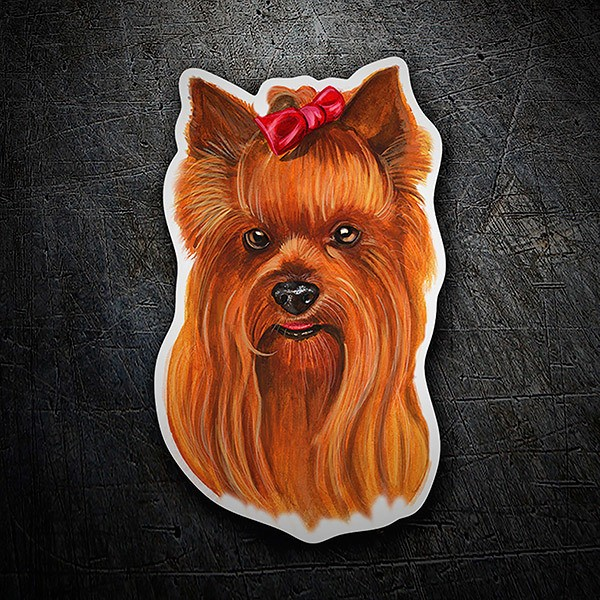 Car & Motorbike Stickers: Yorkshire Terrier