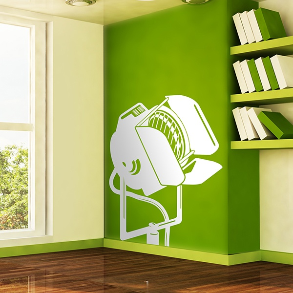 Wall Stickers: The heat of the spotlight
