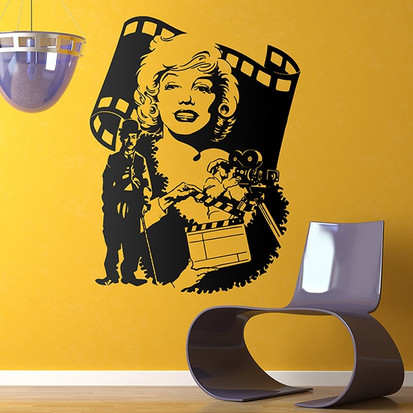 Wall Stickers: Hollywood Stars