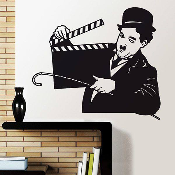 Wall Stickers: Chaplin